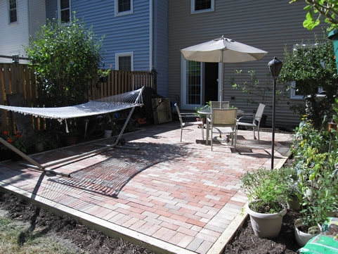 patio finish